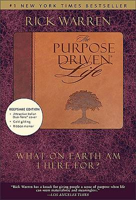 Purpose Driven Life Due Tone Keepsake