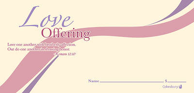 Love Offering Envelope (Package of 100)