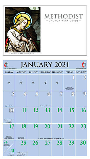 Picture of Ashby United Methodist Calendar 2021