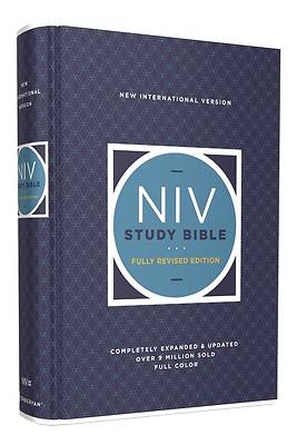 Picture of NIV Study Bible, Fully Revised Edition, Hardcover, Red Letter, Comfort Print