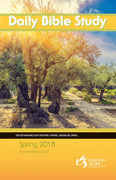 Daily Bible Study Spring 2018 - eBook [ePub]
