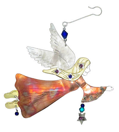 Picture of Free Spirit Angel Ornament