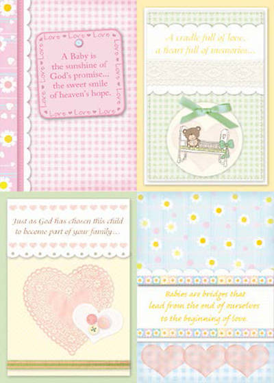 Bundles of Blessings - Baby Boxed Cards - Box of 12