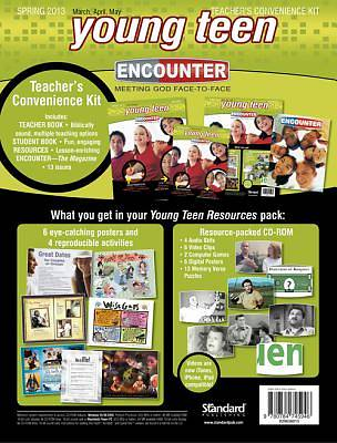 Encounter Young Teen Teacher Convenience Kit Spring 2013