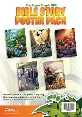 Standard VBS Jungle Safari Bible Story Poster Pack