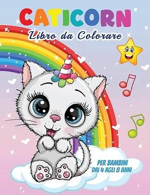 Picture of Caticorn Libro da Colorare