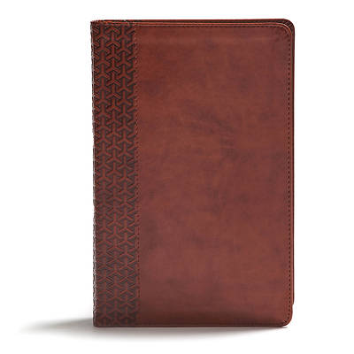 Picture of CSB Everyday Study Bible, British Tan Leathertouch