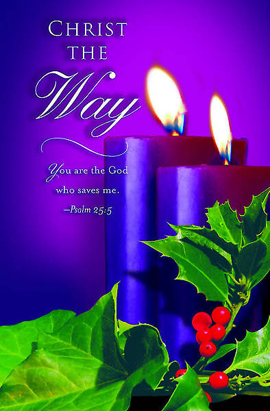 Advent Purple Sunday 2 Bulletin 2012, Regular Size (Package of 50)