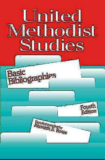 Picture of United Methodist Studies