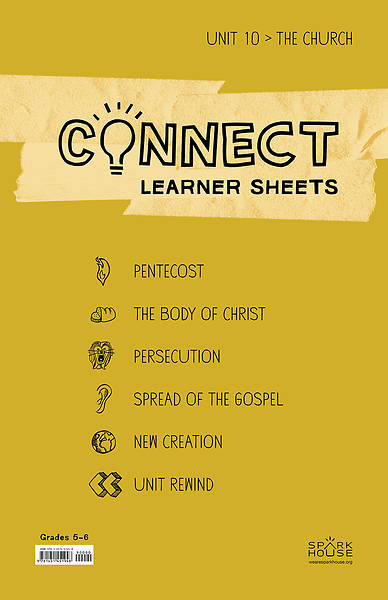 Picture of Connect Grades 5-6 Learner Leaflets Unit 10 The Church The Church