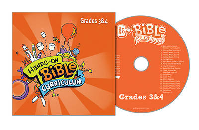 Picture of Hands-On Bible Curriculum Grades 3 4 CD Winter 2014-15