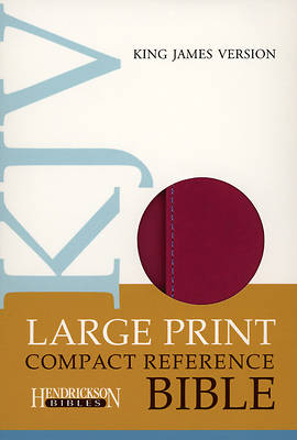 Large Print Compact Reference Bible-KJV-Magnetic Flap