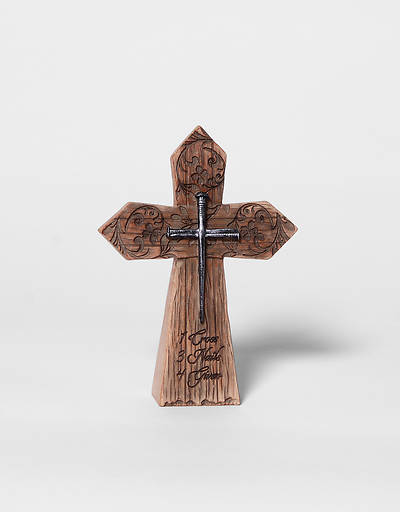 Picture of Resin Tabletop Easter Cross