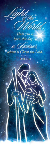 Picture of Light of the World Christmas Bookmark