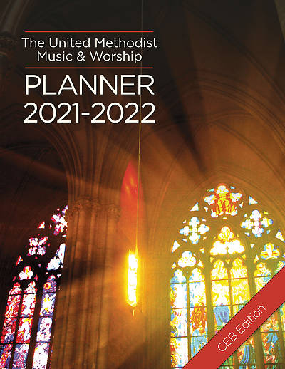 Picture of The United Methodist Music & Worship Planner 2021-2022 CEB Edition