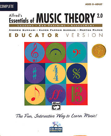 Alfreds Essentials of Music Theory Book 1