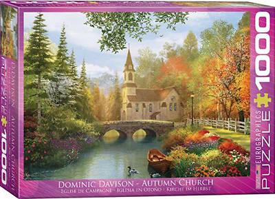 Picture of Autumn Church Dominic Davison 1000 Pieces