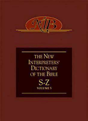 New Interpreters Dictionary of the Bible Volume 5 - NIDB