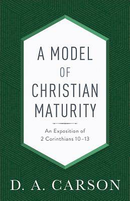 Picture of A Model of Christian Maturity