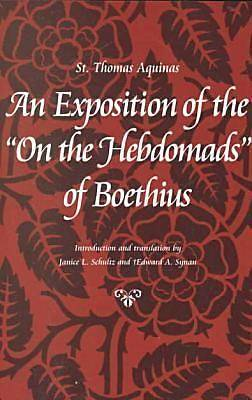 Picture of An Exposition of the on the Hebdomads of Boethius