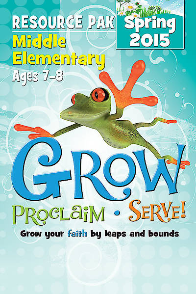 Picture of Grow, Proclaim, Serve! Middle Elementary Resource Pak Spring 2015