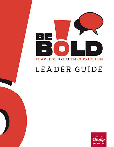 Picture of Be Bold Leader Guide Quarter 1