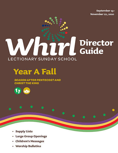 Picture of Whirl Lectionary Director Guide Year A Fall 2020