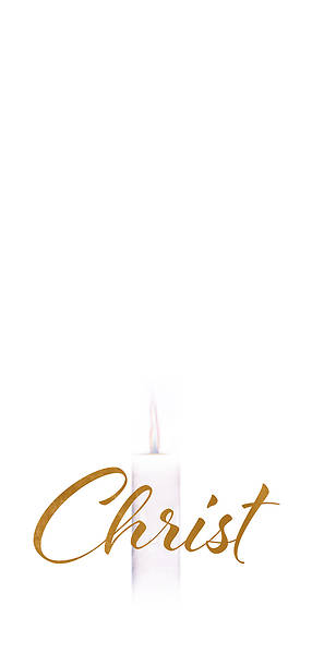 Picture of Advent Christ Candle Overlay