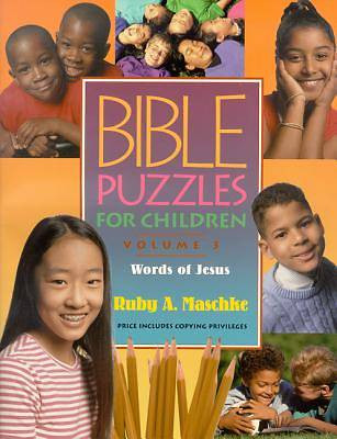 Bible Puzzles for Children Volume 3