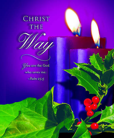 Advent Purple Sunday 2 Bulletin 2012, Large Size (Package of 50)