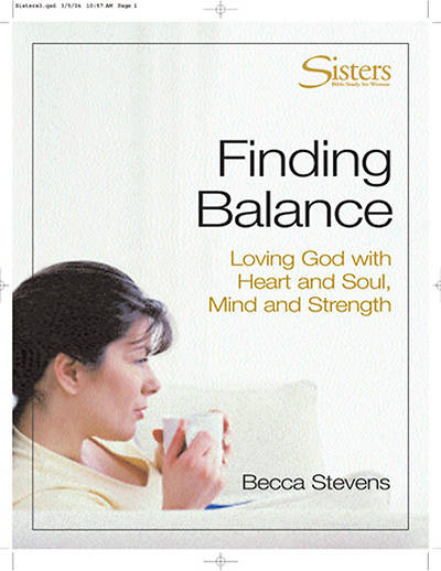Sisters: Bible Study for Women - Finding Balance- DVD