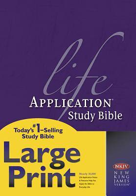 Life Application Study Bible-NKJV-Large Print