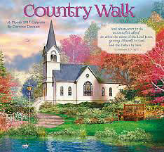 Picture of 2017 16 Month Calendar - Country Walk