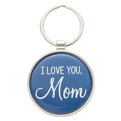 Picture of Keyring in Tin I Love You Mom