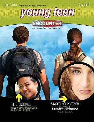 Standard Encounter Young Teen Teacher Book Fall 2013