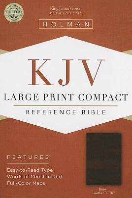 Large Print Compact Reference Bible-KJV