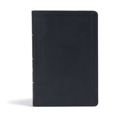 Picture of CSB Giant Print Reference Bible, Black Leathertouch