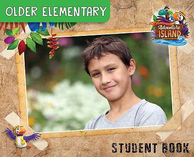 Picture of Vacation Bible School (VBS) 2021 Discovery on Adventure Island Older Elementary Student Book (Grades 3-6) (Pkg of 6)