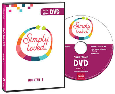 Picture of Simply Loved Q3 PreK-Elementary Music Video DVD