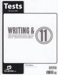 Writing and Grammar 11 Tests 3rd Edition