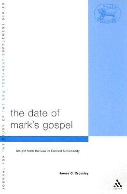 The Date of Marks Gospel