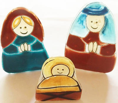 Nativity Set 3Pc
