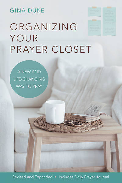 Organizing Your Prayer Closet