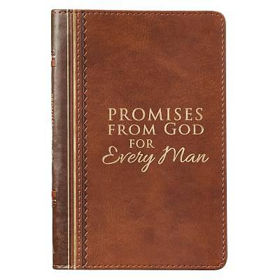 Picture of Promises from God for Every Man Brown Lux-Leather