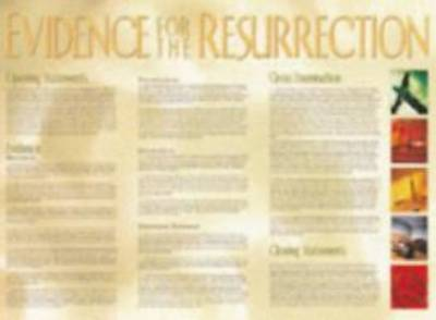 Picture of Chart Wall Evidence Of The Resurrection