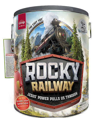 Picture of Vacation Bible School (VBS 2020) Rocky Railway Ultimate Starter Kit - Bilingual