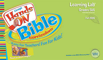 Picture of Group's Hands On Bible Curriculum Grades 5 and 6 Learning Lab Fall 2009
