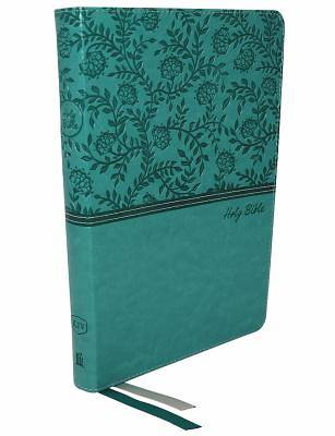 Kjv, Thinline Bible, Large Print, Leathersoft, Green, Red Letter Edition, Comfort Print