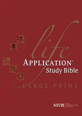New International Version Life Application Study Bible Large Print Edition