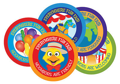 Vacation Bible School 2013 Everywhere Fun Fair Pkg.12 Scripture Treasures  VBS